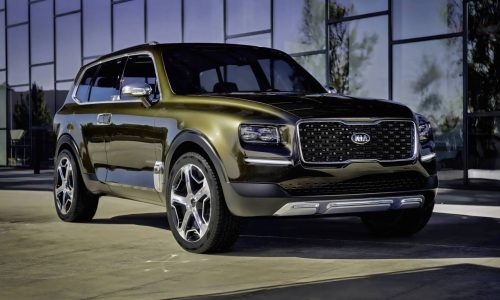 Kia Telluride concept revealed, possible large SUV above Sorento