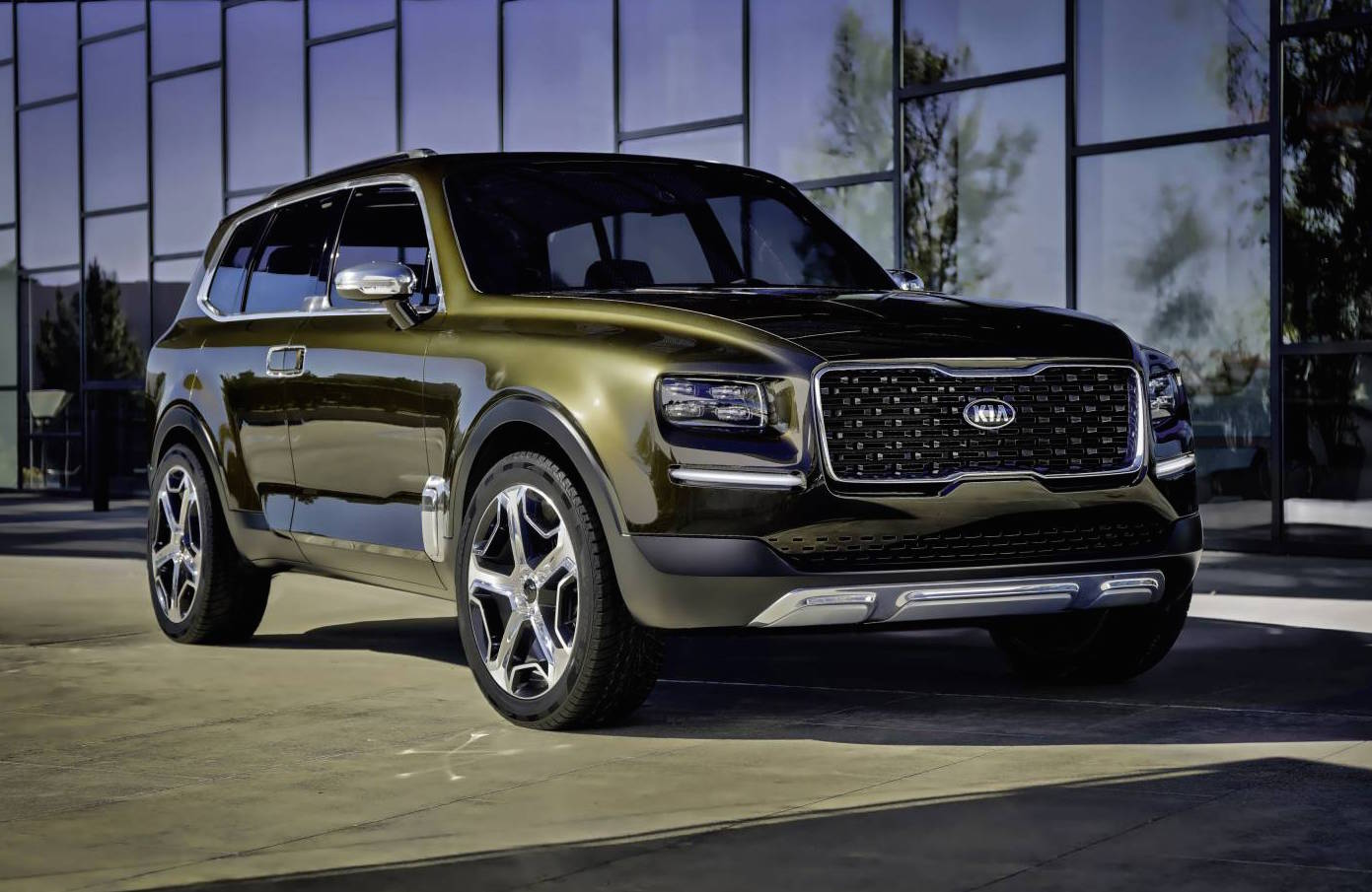 Kia Telluride concept revealed, possible large SUV above ...