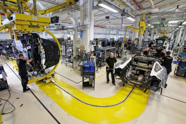 Lamborghini factory
