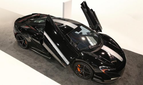 McLaren 675LT JVCKENWOOD special edition revealed at CES