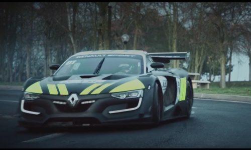 Video: Renault R.S. 01 Interceptor is one cool police car