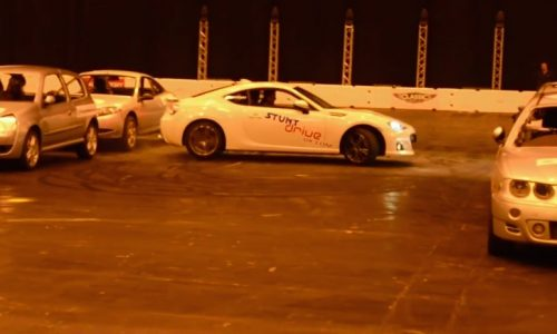 Subaru BRZ sets new world record for 'Tightest 360 spin' (video)