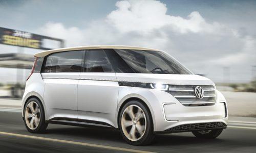 Volkswagen BUDD-e concept revealed, previews MEB EV platform