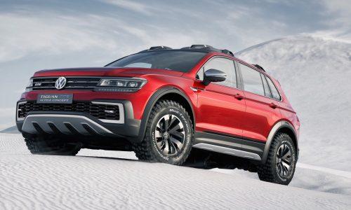 Volkswagen Tiguan GTE Active concept revealed