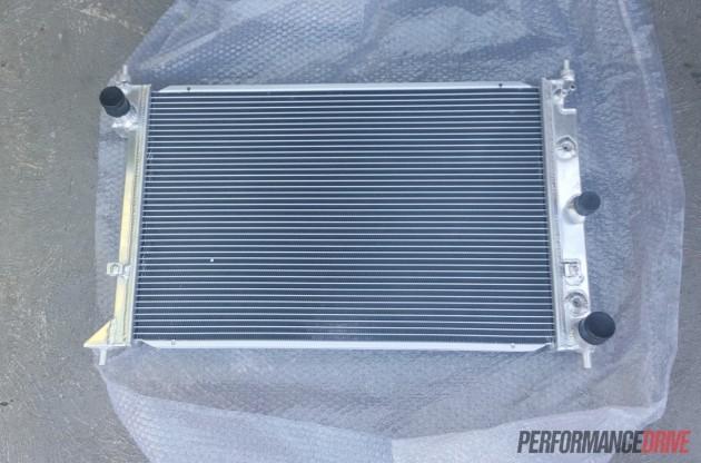 Volvo 240 GL-BA Falcon radiator