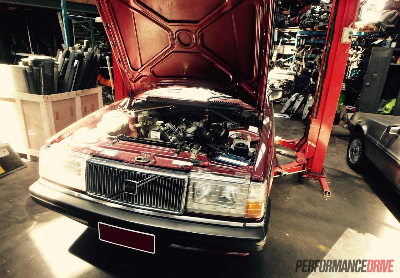 Volvo 240 GL with LS1 V8 conversion project: Part 5 - sump