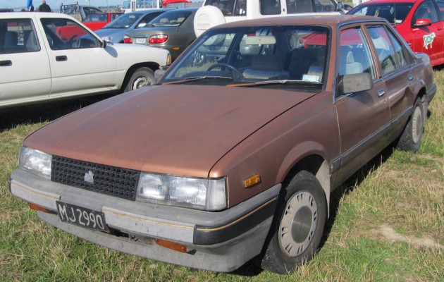 1985 Holden Camira 2.0L Saloon