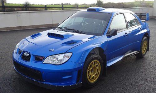 For Sale: Petter Solberg's 2007 Subaru WRC S12B rally car