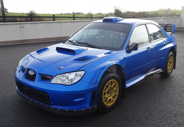 2007 Subaru WRC S12B rally car