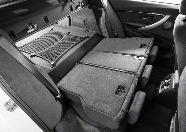 2016 BMW 330e-rear seats