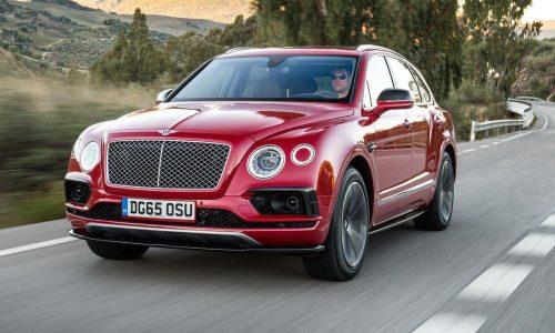 Sporty fastback version of Bentley Bentayga confirmed by CEO