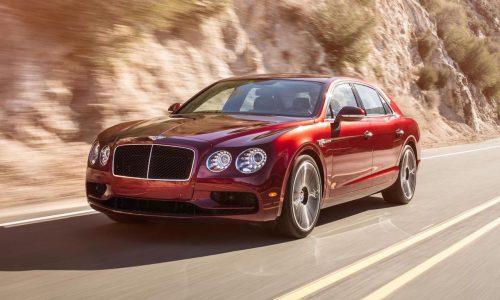 Bentley Flying Spur V8 S revealed ahead Geneva debut