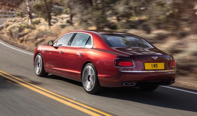 2016 Bentley Flying Spur V8 S-rear