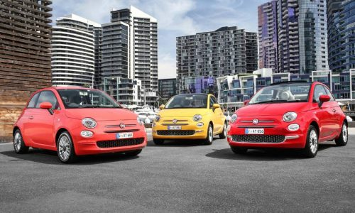 2016 Fiat 500 now on sale in Australia in from $18,000