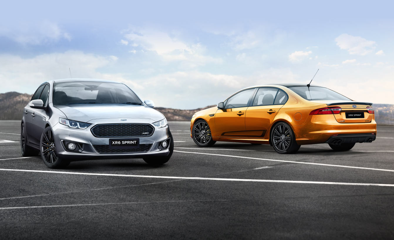 2016 Ford Falcon XR6 Sprint and XR8 Sprint