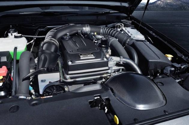 2016 Ford Falcon XR6 Sprint-carbon intake
