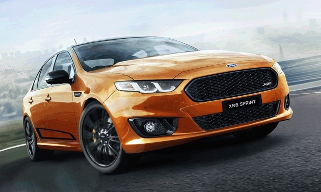 2016 Ford Falcon XR8 Sprint Victory Gold
