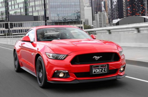2016 Ford Mustang-Australia