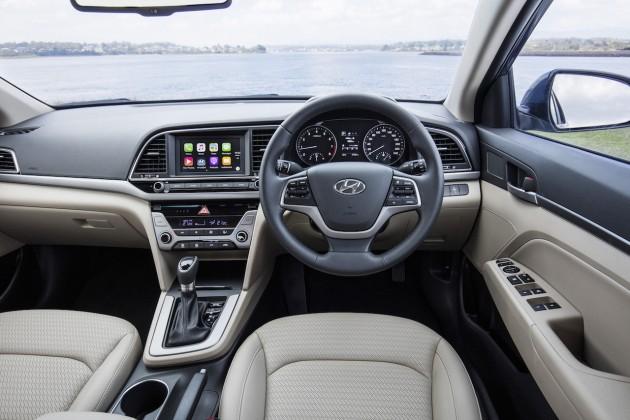 2016 Hyundai Elantra Elite-interior