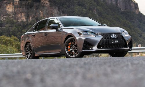 Lexus GS F now on sale in Australia from $148,800