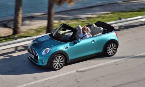 2016 MINI Cooper Convertible on sale in Australia from $37,900, arrives Q2