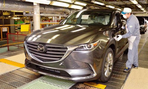 2016 Mazda CX-9 production begins, arrives in Australia mid-2016