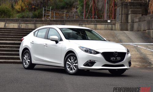 Mazda3 Touring sedan review (video)