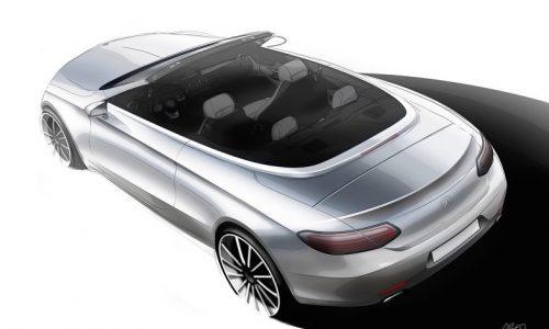 2016 Mercedes-Benz C-Class Cabriolet previewed before Geneva debut