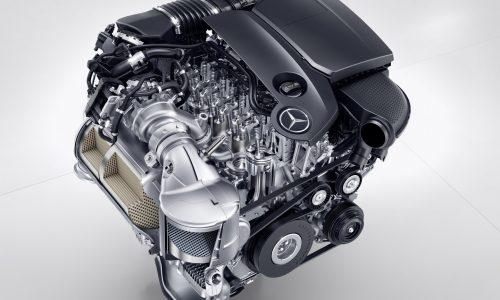 Mercedes reveals new 'OM 654' 2.0TD; company's first aluminium diesel