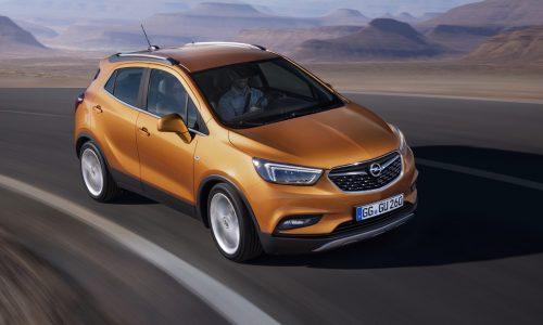 Opel Mokka X revealed before Geneva show debut