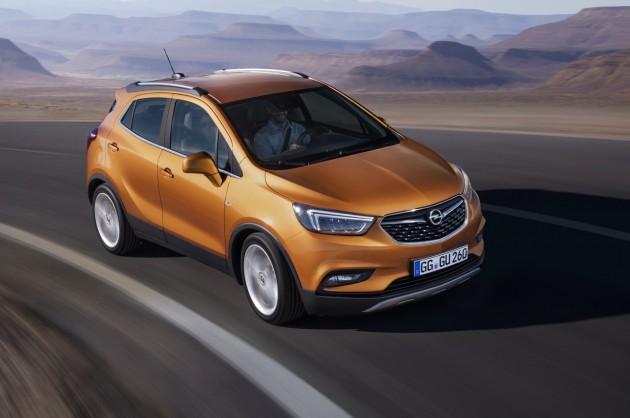 2016 Opel Mokka X-front