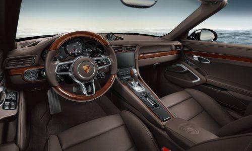 Porsche Exclusive reveals new options with 911 Carrera S cabriolet