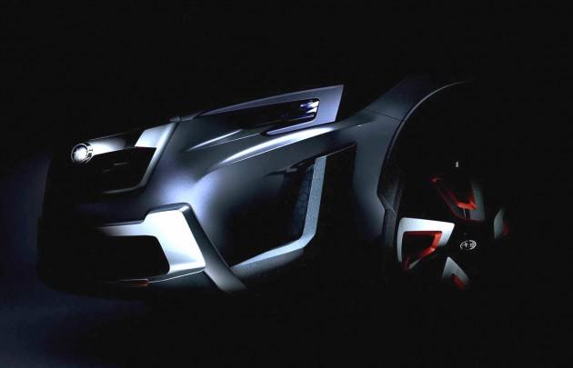 2016 Subaru XV concept-teaser