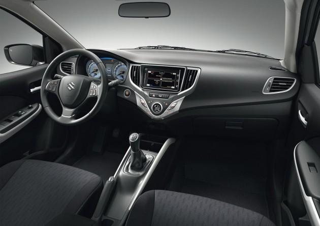2016 Suzuki Baleno-interior