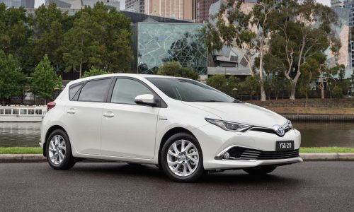 Toyota Corolla hybrid to go on sale in Australia mid-2016