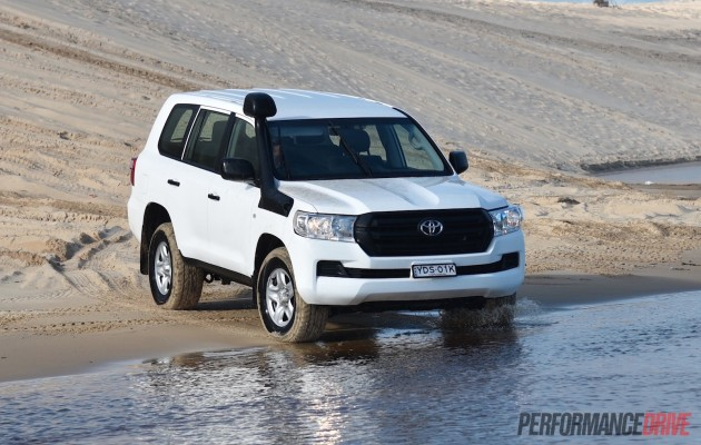 2016 Toyota LandCruiser GX-water crossing
