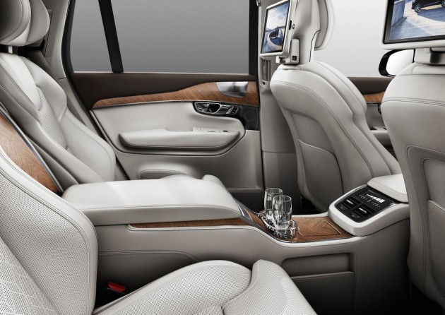 2016 Volvo XC90 Excellence-rear seats