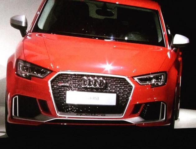 2017 Audi RS3 sedan
