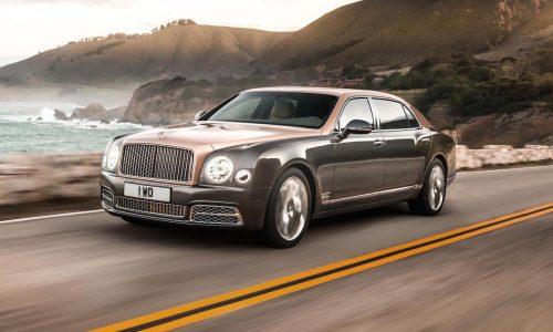 2017 Bentley Mulsanne unveiled, extended wheelbase option added