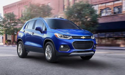 2017 Holden Trax revealed in Chevrolet form