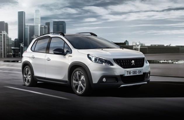 2017 Peugeot 2008-front
