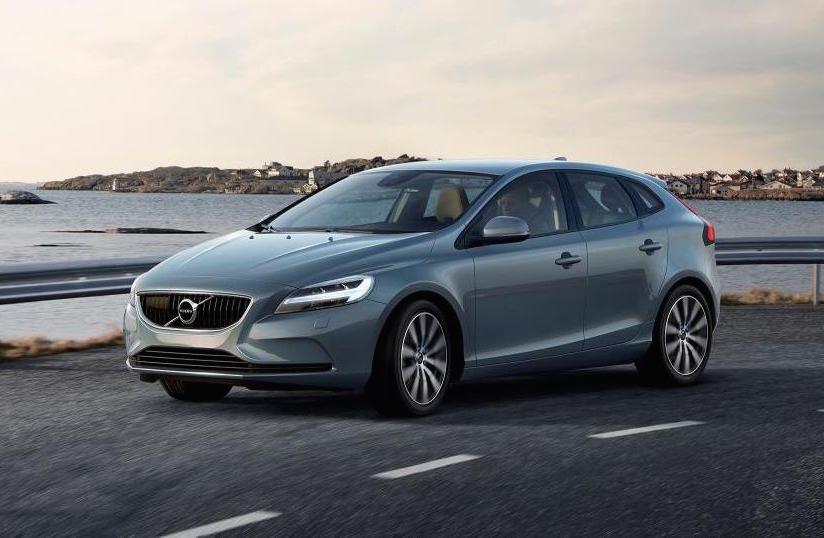 2017 Volvo V40 Revealed Gets Thor Hammer Led Headlights Performancedrive