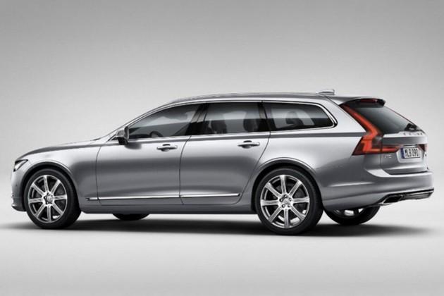 2017 Volvo V90-rear