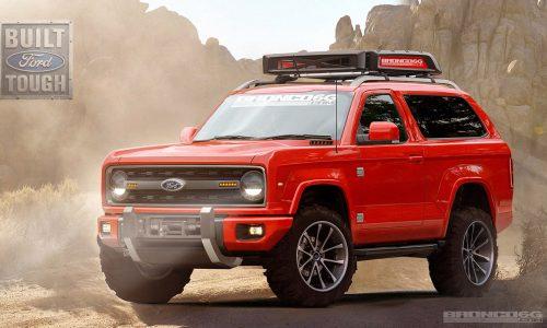 Future Ford Bronco envisaged, fitting design for SUV icon?