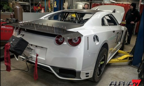 AMS Alpha G Nissan GT-R ready for TX2K16, world's most powerful?
