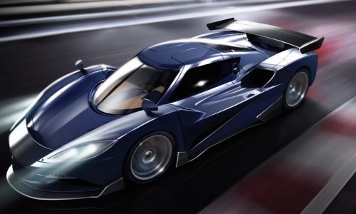 Arash Motor Company plans 1551kW hybrid hypercar; the AF10