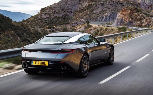 Aston Martin DB11-rear