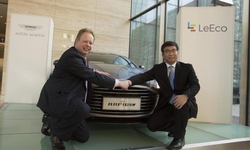 Aston Martin signs deal with LeEco, RapidE EV confirmed for 2018