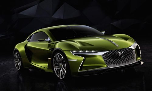 DS E-TENSE concept revealed; 300kW EV sports car of the future