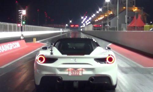 Stock Ferrari 488 GTB runs 10-second quarter mile (video)
